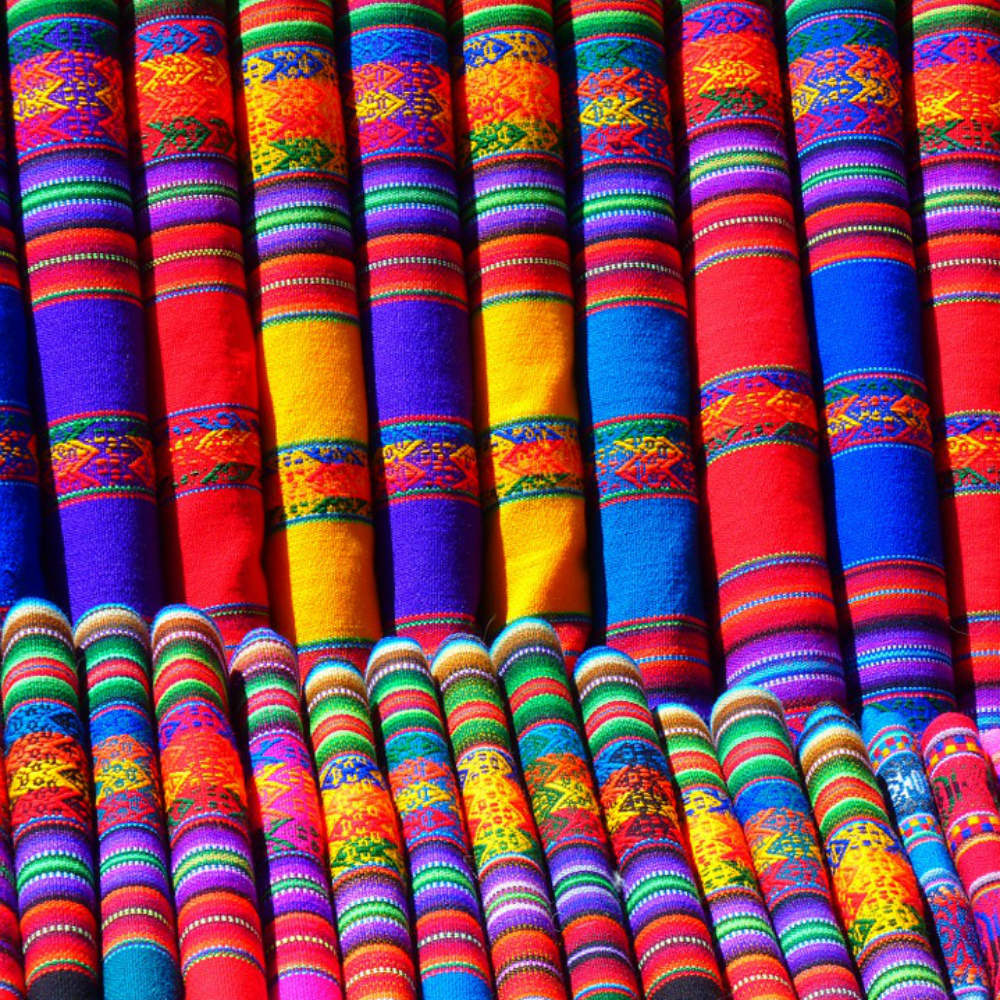 Kleurrijke Stoffen