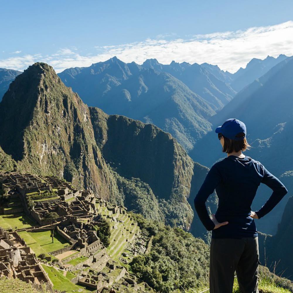 Toerist in Zuid-Amerika
